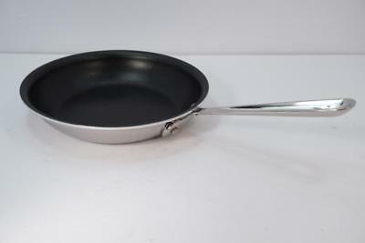 New All-Clad Metalcrafters 8 In. Stainless Steel Nonstick Fry Pan. USA Made