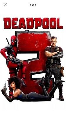 Deadpool 2 (DVD,2018) NEW*  Action, Comedy, S/Fiction* NOW SHIPPING *