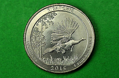 2015-D   BU  Mint State  (Kisatchie National Forest)  US National Park Quarter