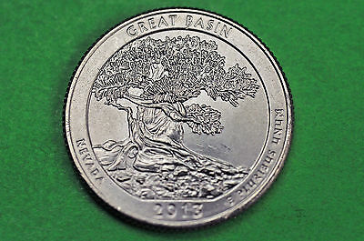 2013-D   BU Mint State (Great Basin )  US National Park Quarter