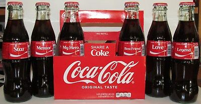 2018 COCA COLA SHARE AN ICE COLD COKE WITH GEORGIA SOUTHERN 8 OZ GLASS BOTTLE