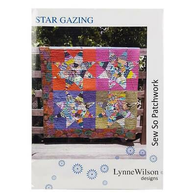 Star Gazing Quilt Pattern by Lynne Wilson Designs Quilting Patchwork Sewing