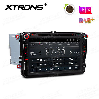 XTRONS Android 8.1 Car Radio DVD Stereo GPS For VW Bora Golf Caddy SKODA SEAT