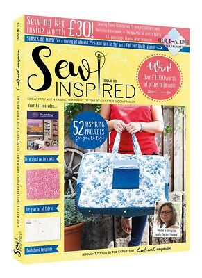 Crafters Companion - SEW INSPIRED - Issue 13 Autumn Edition MAG-SI13