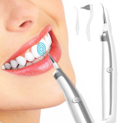 LED Dental Tooth Stain Eraser Teeth Polisher Whiten Stain Plaque Remover