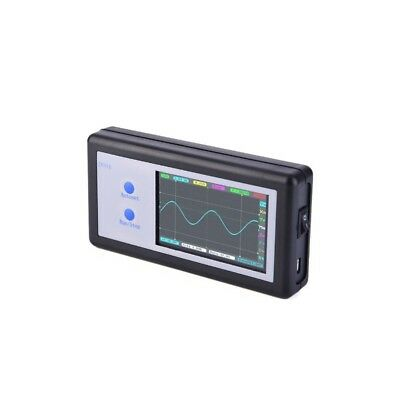 200KHz Digital Oscilloscope 2CH Mini Portable Oscilloscope Touch Panel LCD D602
