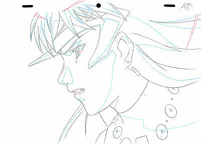 SALE! Anime Douga Not Cel: Queen's Blade #425 (Set of 1 Production Sketch)