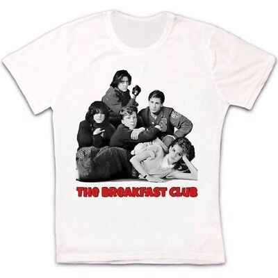 The Breakfast Club Movie 80s Comedy Retro Vintage Hipster Unisex T Shirt 596
