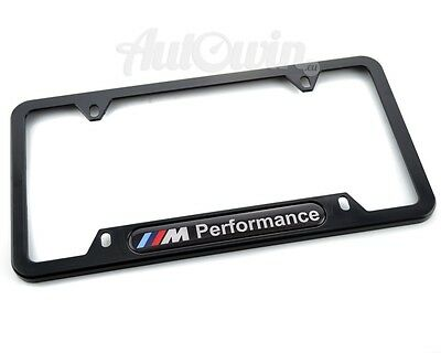 License Plates For BMW Frames with Performance Logo NEW 1 Pcs USA Standart