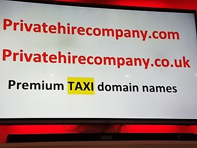 Taxi - Private hire  Domain Name for sale privatehirecompany.com / .co.uk