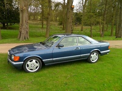 Mercedes 500 Sec Only 3 Owners And Fsh From New Must Be Viewed To Appreciate