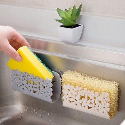 Dish Cloths Rack Suction Sponge Holder Home Kitchen Clip Rag Storage Rack VF