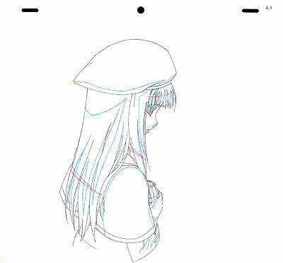 SALE! Anime Douga Not Cel: Spice and Wolf #96 (Set of 1 Production Sketch)