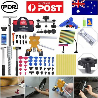 95× PDR Tools Dent Puller Lifter LED Line Board Repair Hammer Paintless Removal