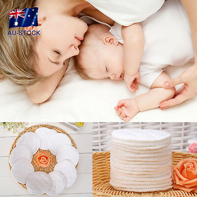 10pcs Washable Reusable Cotton Pads Breastfeeding Liners Breast Pad For Nursing