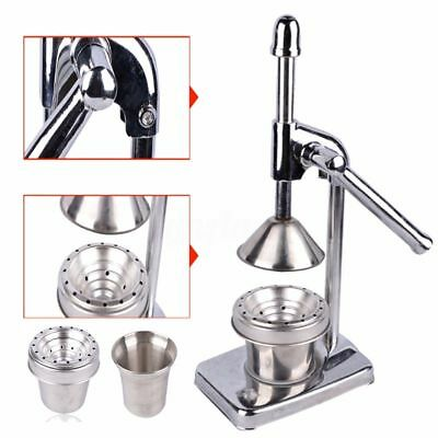 Commercial Juicer Squeezer Manual Hand Press Fruit Juice Extractor Household Kit