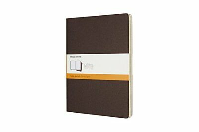 Moleskine Coffee Brown Extra Large Ruled Cahier Journal Set of 3