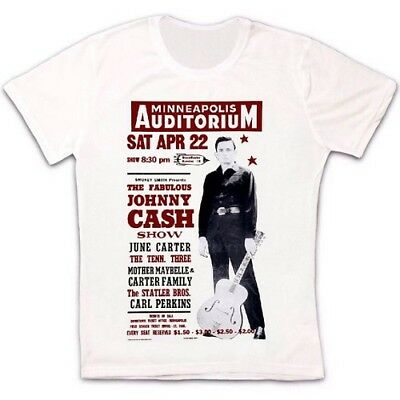 The Johnny Cash Show 50s Music Poster Retro Vintage Hipster Unisex T Shirt 677