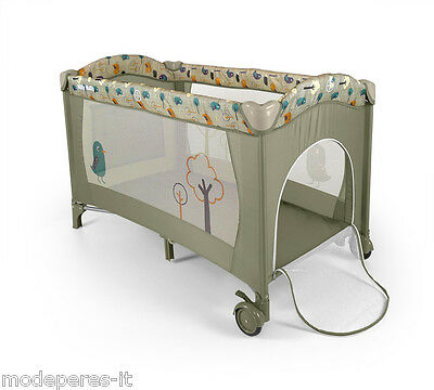 Cot box travel, camping packable easily with carry bag transport