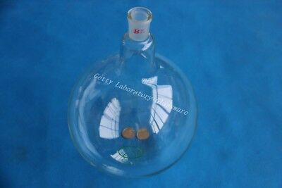 5L (5000ml) round bottom boiling flask, single neck, heavy wall, 24/40 joint, bo