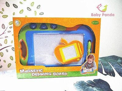 Kids Drawing Board Magnetic Writing Sketch Pad with Doodle Toy 1 plus 1 set