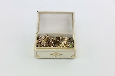 Job Lot 25 MYSTERY VINTAGE GOLD TONE NECKLACES Lucky Dip Surprise Collection