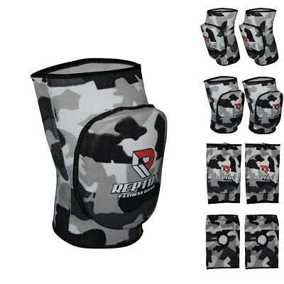 Elasticate Paded Work Wear Camo Knee Pad  Protector Brace Support Heavy Duty MMA