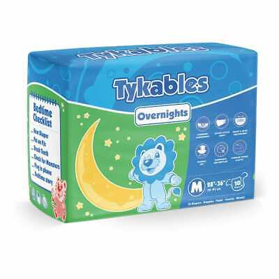 Adult Nappy / Tykables Overnights - Size 2 (Large) - Pack of 10