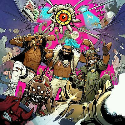 E1228 Art Flatbush Zombies 3001 A Laced Odys 18 24x36inch Poster New Gift
