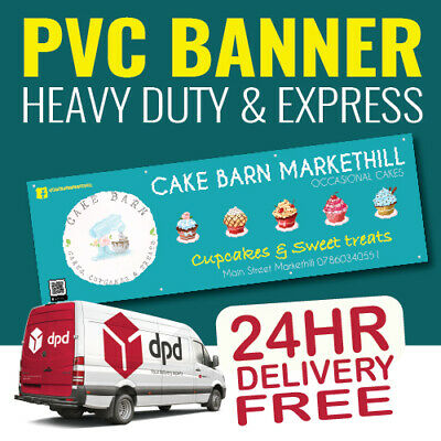 PVC Banner Printed Outdoor Vinyl Sign for Business Parties Birthdays