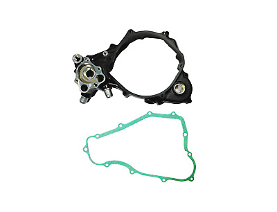 1988-1989 Honda CR250R OEM Right Crankcase Cover Water Pump Cover & Gasket H87