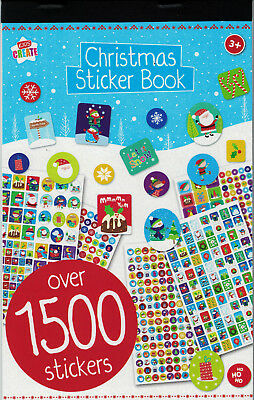 Christmas Mega Sticker Book Over 1500 Stickers Kids Creative Fun Activity Crafts
