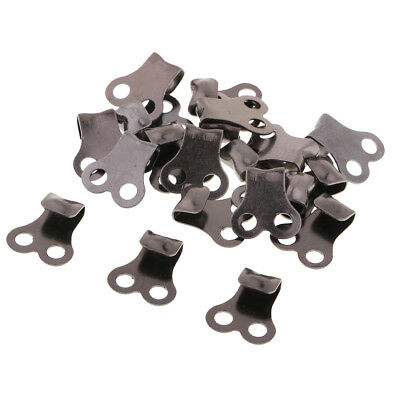 Baoblaze 20pcs Copper Boot Hooks Lace Fittings for Camping Hiking Climbing