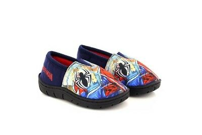 OFFICIAL Marvel Ultimate Spiderman Childs Boys Kids Haruj Slippers Sizes 8-2