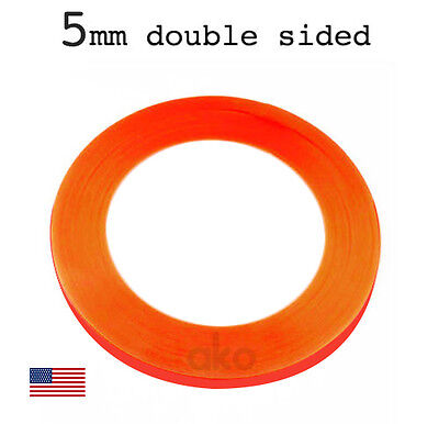 5MM Red Repair Tape Adhesive Glue Bond Decal Sticker for LCD Screen Glass Tablet