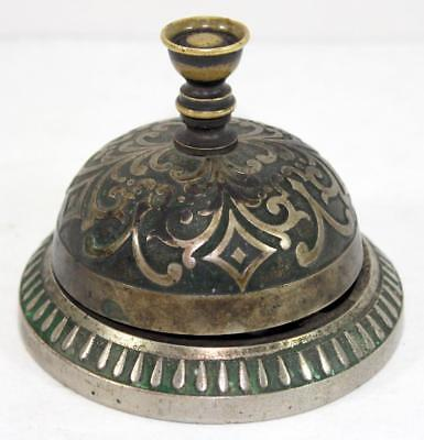 c.1876 Antique Victorian Hotel Reception Counter Bell Store Front Counter Bell