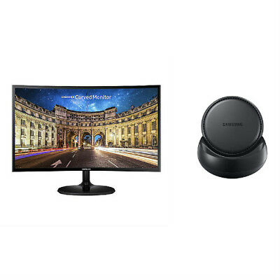 Samsung 390 Series 27 inch Curved Monitor with Dex Station Curved LED Monitor