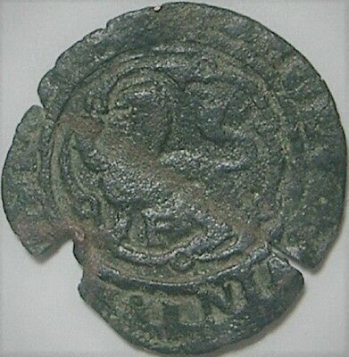 Santo Domingo 1516-1556 -F 4 Maravedis  Charles I Issue