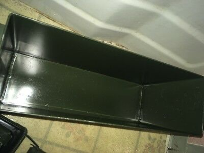 """Ammo Can, Mk-19 40mm; Navy Surplus, PA-120, Stackable,; 19""""x10""""x6"""", 13 Lbs"""