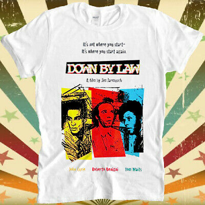 Down By Law Film 80s Prison Tom Waits Retro Vintage Hipster Unisex T Shirt 1489