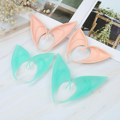Halloween party vampire soft latex false ears pointed elf ears fake ears~cosplay
