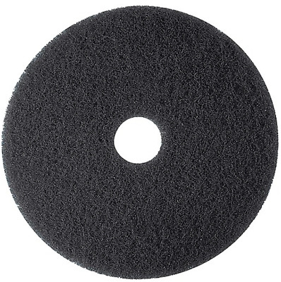 "NEW Brighton Professional Floor Stripping Pad, 20"", Case of 5 Black 655465"