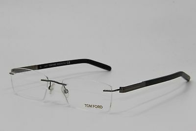 9d13dc9d3a65 New Tom Ford Tf 5199 008 Black Rimless Eyeglasses Authentic Frames Rx 55-18-