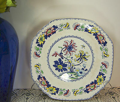 """Beautiful Italy Style Art BALMORAL CROWN STAFFORDSHIRE Serving Platter Plate 12"""""""