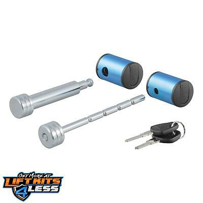 "CURT 23505 Right-Angle Hitch&Coupler Lock Set W/2"" Receiver ALL Non-Spec Vehicle"