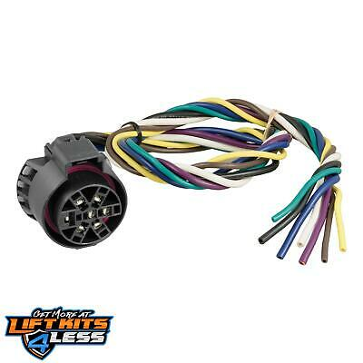 """CURT 56229 Replacement Uscar Socket With 24"""" Wires for 07-17 Audi A6/S6/A5"""