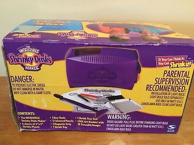The incredible shrinky dinks maker 35447 un-boxing youtube.