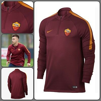 Nike AS Roma Dri-fit squad football training Drill top, 836802-677 Sz Small