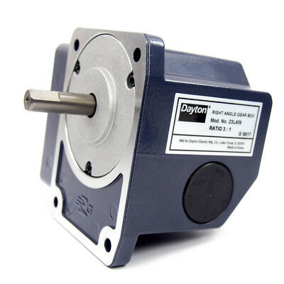 Continuous Speed Reducer - Right Angle Gear Box 3:1 Ratio 23L409