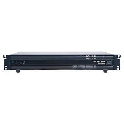 Sound Town PA Pro Class-D 2-Channel 6000W Rack Mount Power Amplifier STA-D6000